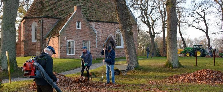 Vrijwilliger in de kerk - foto: Johannes Velthuis