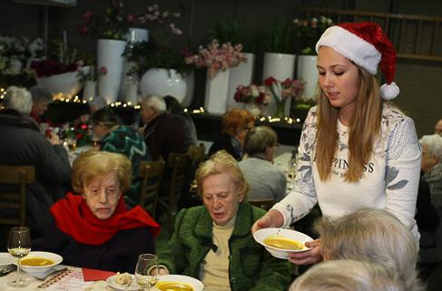 Top 5 waarvoor vrijwilligers zich inzetten met kerst.